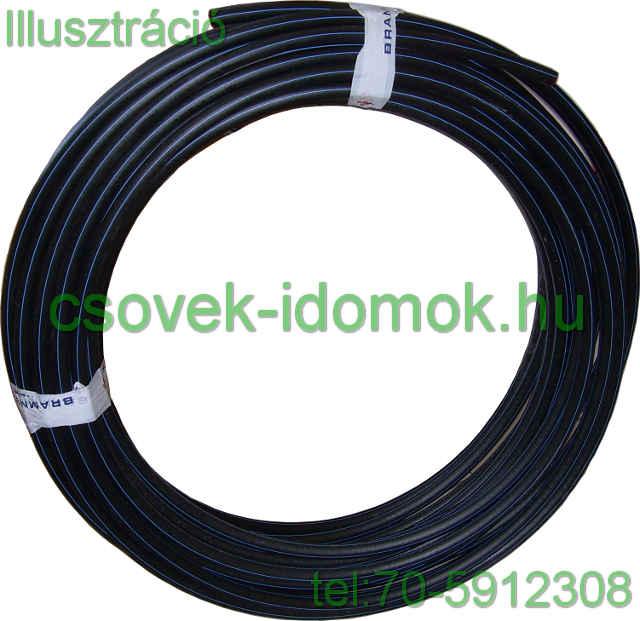 d7900abdc3f2 KPE cső 63x5,8 mm 10 bár vízre ára